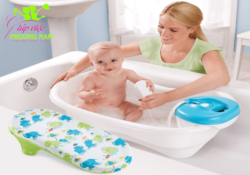 Cách tắm cho bé chuyên nghiệp